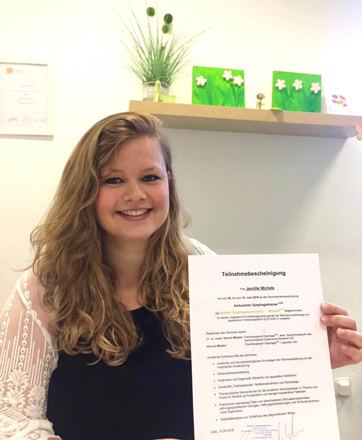 Logopädie Vest Intensivschulung Dysphagietrainer